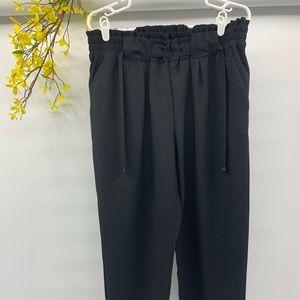 Michael kors High Waist Pencil Crop Black Pants L